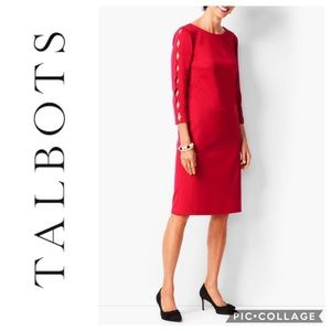 Talbots Refined Scalloped Edge Dress NWT
